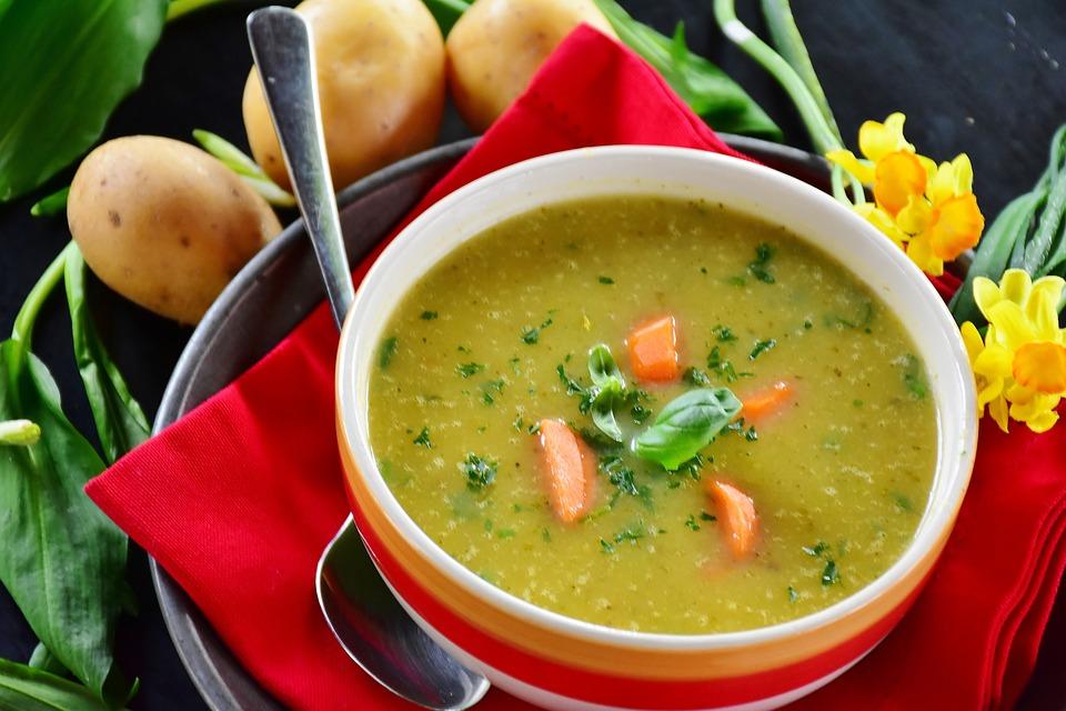 Potato Soup Food Soup Potato Bear's Garlic Edible